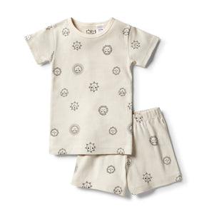 Wilson & Frenchy - Organic Summer Pj Set - Sunshine