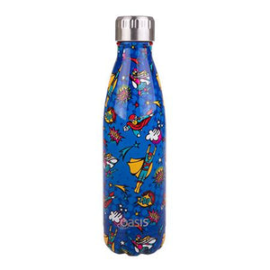 Oasis - Insulated Stainless Steel Kids Drink Bottle - Super Heros