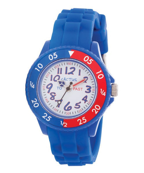 Cactus Watch - Time Tutor - Blue/Red