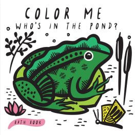 Bath Book - Colour Me - Who's in the Pond?