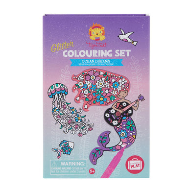 Tiger Tribe - Glitter Colouring Set - Ocean Dreams