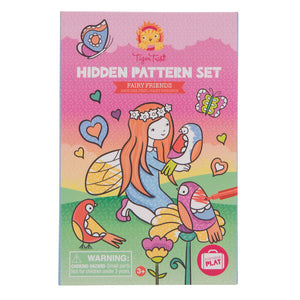 Tiger Tribe - Hidden Pattern - Fairy Friends