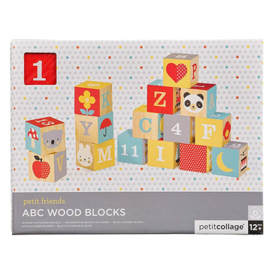 Petit Collage - ABC Wood Blocks