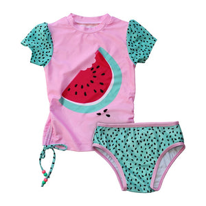 Mini Sandcrabs - S/S 2pc Set - Watermelon