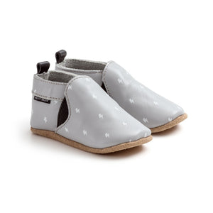 Pretty Brave - Slip On - Grey Lightning