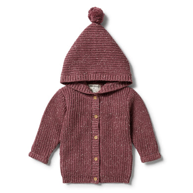 Wilson & Frenchy - Knitted Jacket - Wild Ginger Fleck