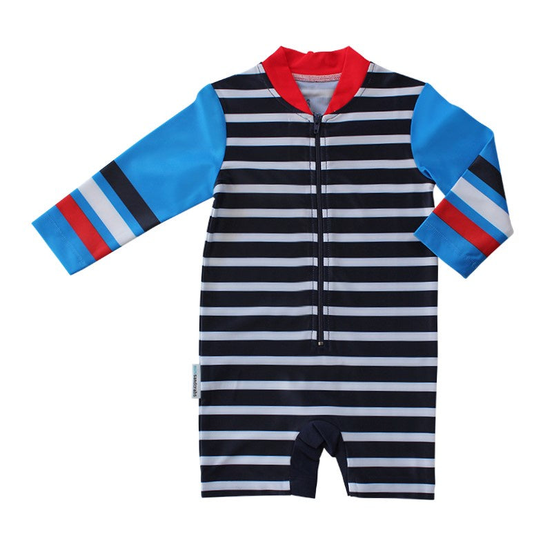 Mini Sandcrabs - L/S Sunsuit - Boys Sport