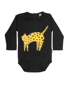 Band of Boys - Organic Baby - Surprise Cheetah Onesie