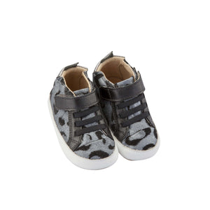 Old Soles - Baby Cat - Silver/Black