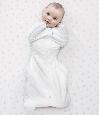 Love To Dream - Swaddle Up Organic Warm 2.5 TOG - White