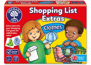 Orchard Toys - Shopping List Booster Pack - Clothes