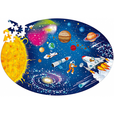 Sassi Science - Space the Solar System - Puzzle and Book