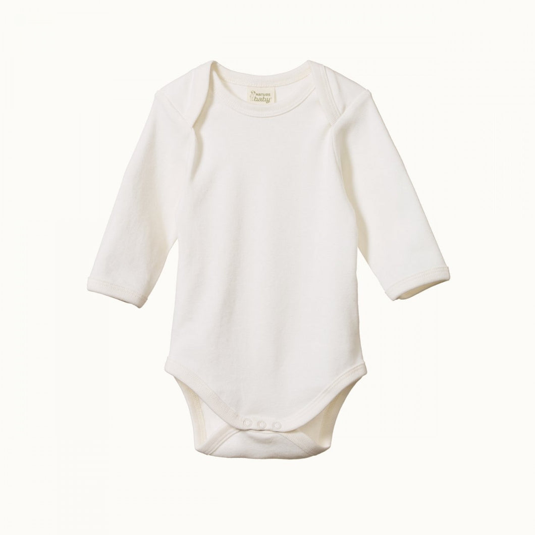 Nature Baby - L/S Bodysuit - Natural