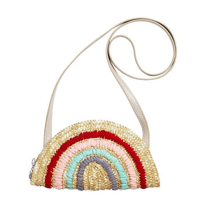Acorn - Rainbow Straw Bag