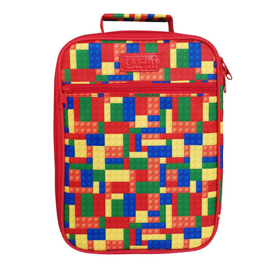 Sachi - Insulated Junior Lunch Tote  - Bricks