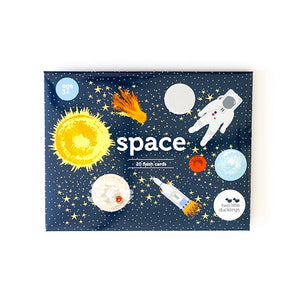 Two Little Ducklings - Flash Cards - Space
