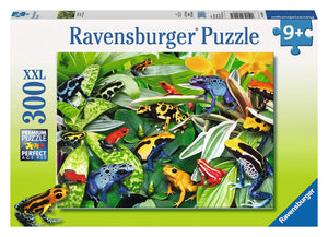 Ravensburger puzzle 300pc Friendly Frogs
