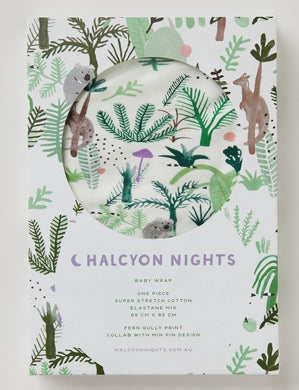 Halcyon Nights - Baby Wrap - Fern Gully