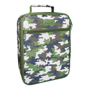 Sachi - Insulated Junior Lunch Tote  - Camo Green