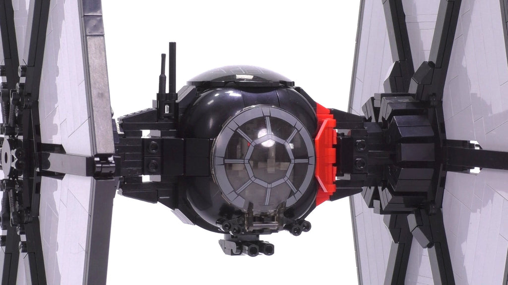 First Order Special Forces Tie Fighter Minifig Scale Brick Vault