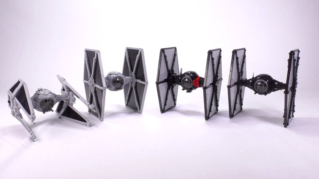 First Order TIE Fighter - Minifig Scale