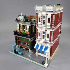 Antique Store & Ice Cream Parlor - Modular Building