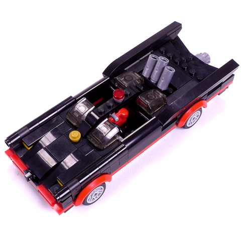 1966 Batmobile - Minifig Scale