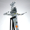Image of B-wing Starfighter - Minifig Scale