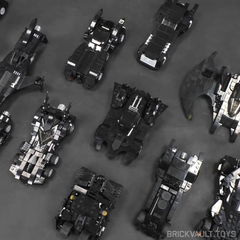 Batmobile Collection -Minifig Scale