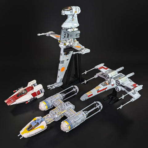 Original Trilogy Starfighters - X-wing, Y-wing, A-wing, B-wing