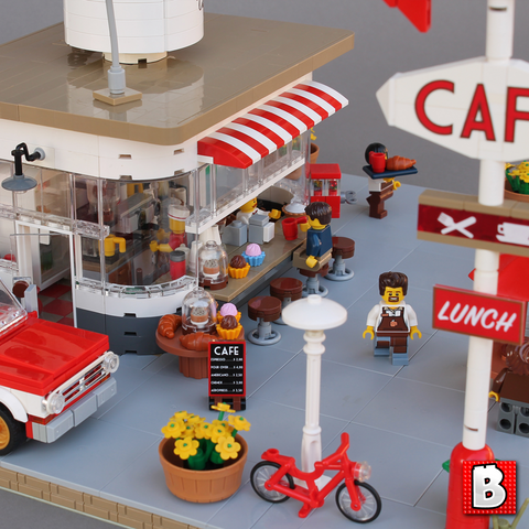 Coffee Stand | Andy's Cafe - Modular Building