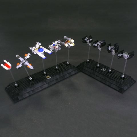 Rebel & Empire Fighters - Micro Scale