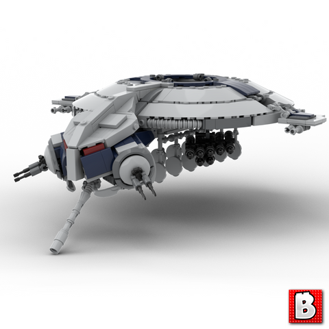 Droid Gunship - Minifig Scale