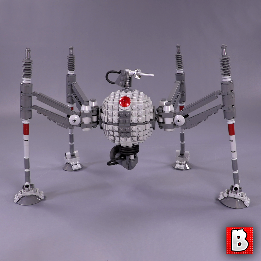 Homing Spider Droid - Minifig Scale