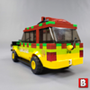 Image of Jurassic Park Jeep and Explorer - Minifig Scale