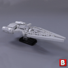 Image of Nebulon B, Arquitens, Gozanti, CR90, GR75, TIE Fighters - Nano Scale Fleet