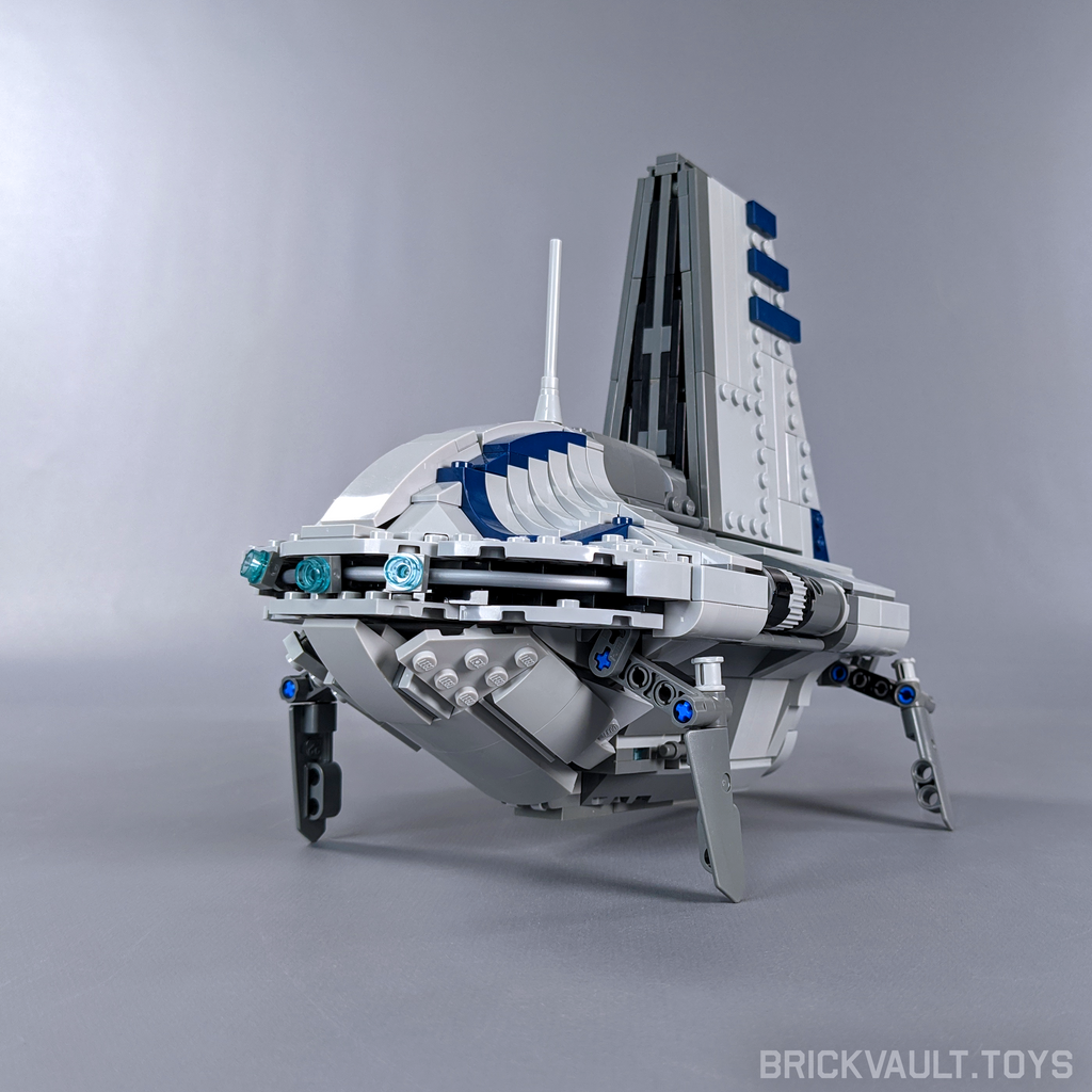 Sheathipede-class Transport Shuttle - Minifig Scale
