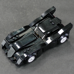 The New Batman Adventures Batmobile - Minifig Scale