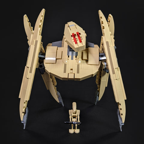 Vulture Droid - Minifig Scale