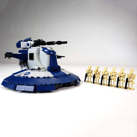 AAT Battle Tank - Minifig Scale