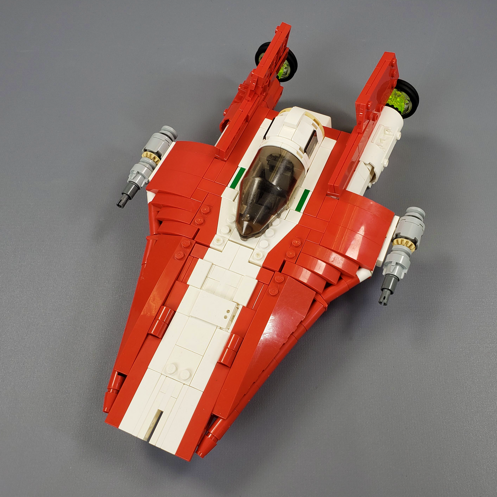 RZ-2 A-wing Starfighter - Minifig Scale