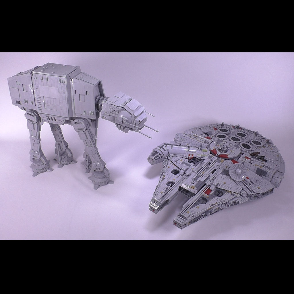 AT-AT & AT-ACT Combo - Minifig Scale
