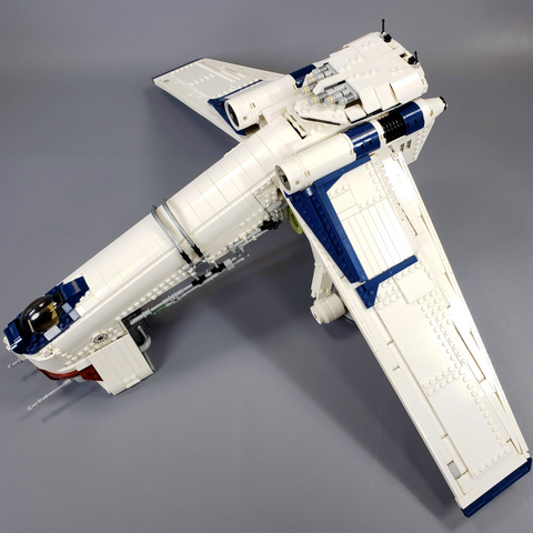 Republic Dropship - Minifig Scale