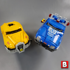 UCS Fifth Element Taxi Police Chase