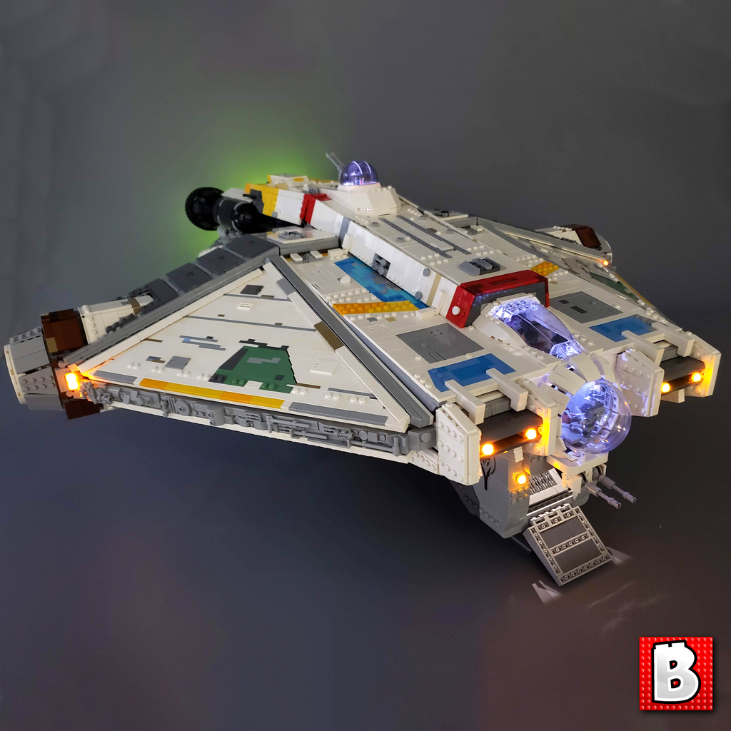 Ghost Corellian Transport - Minifig Scale
