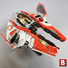 Jedi Interceptor - Minifig Scale