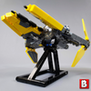 Image of Jedi Interceptor - Minifig Scale