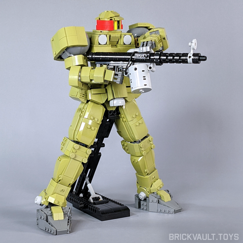 Leo Mobile Suit - Minifig Scale