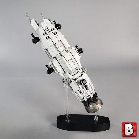 The Expanse - Rocinante and Razorback - Micro Scale