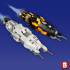 Image of The Expanse - Rocinante and Razorback - Micro Scale